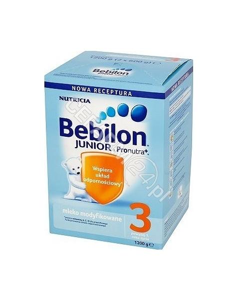 NUTRICIA Bebilon junior 3 z pronutra+ 1200 g