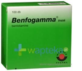 WORWAG PHARMA GMBH & CO.KG Benfogamma 50 mg drażetki 100 sztuk