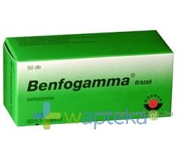 WORWAG PHARMA GMBH & CO.KG Benfogamma drażetki 50 mg 50 sztuk
