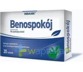WALMARK SP. Z O.O. Benospokój 20 tabletki