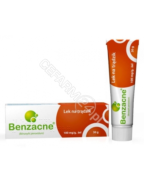 BYK MAZOVIA Benzacne 10% żel 30 g