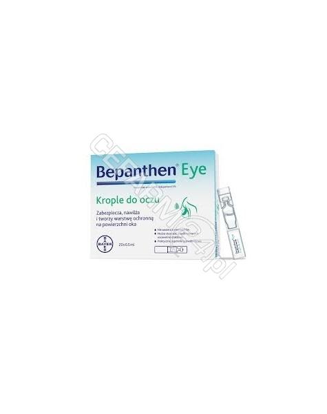 BAYER Bepanthen eye krople do oczu 0,5 ml x 20 szt