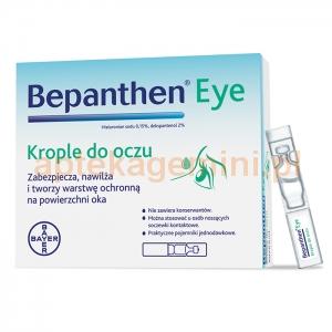 BAYER Bepanthen eye, krople do oczu, 10 sztuk po 0,5ml