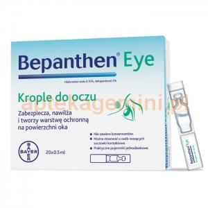 BAYER Bepanthen eye, krople do oczu, 20 sztuk po 0,5ml