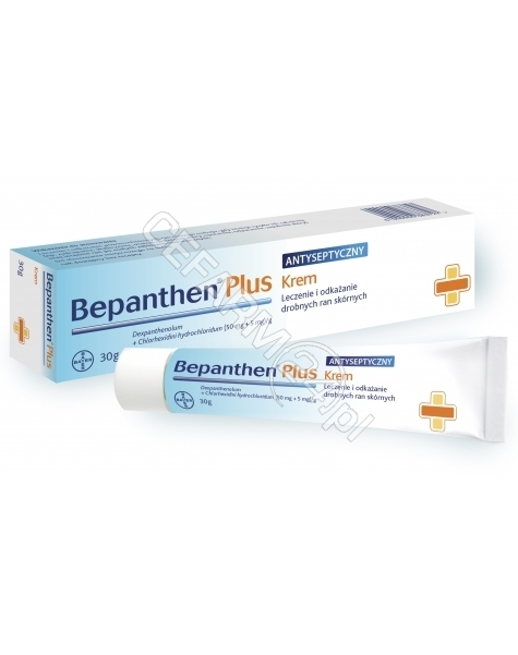 BAYER Bepanthen plus krem 30 g
