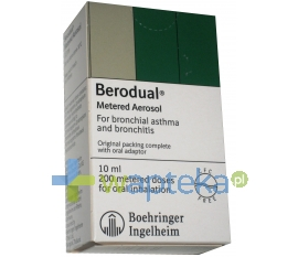 BOEHRINGEN INGELHEIM MARKETING SP. Z O.O. Berodual roztwór do nebulizacji 20 ml