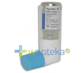BOEHRINGEN INGELHEIM MARKETING SP. Z O.O. Berotec N aerozol (100 mcg / dawkę) import 200 dawek 10 ml