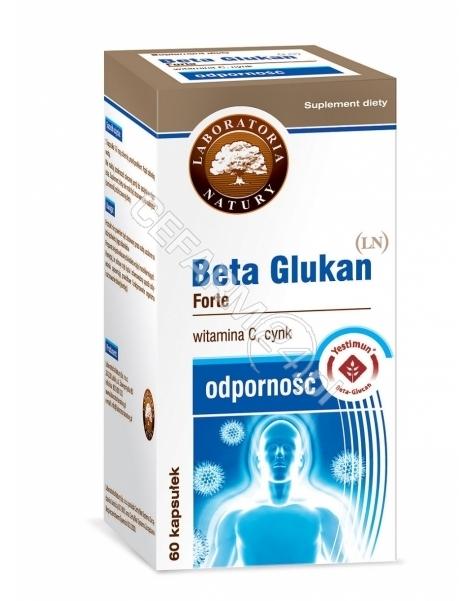 LABORATORIA NATURY SP Z O.O. Beta glukan forte (LN) x 60 kaps