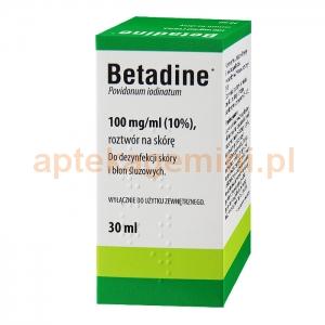 INPHARM Betadine 10%, roztwór na skórę, 30ml IMPORT RÓWNOLEGŁY