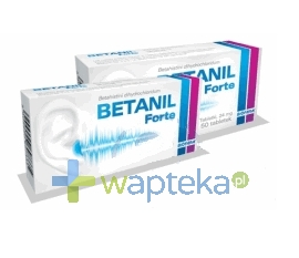 BIOFARM SP.Z O.O. Betanil forte 24 mg tabletki 50 sztuk
