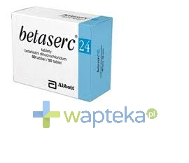 ABBOTT LABORATORIES POLAND SP.Z O.O. Betaserc 24 mg tabletki 20 sztuk