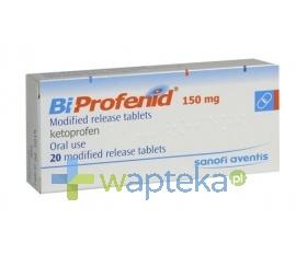 AVENTIS PHARMA Bi-Profenid tabletki o zmodyfikowanym uwalnianiu 150 mg 20 sztuk