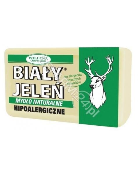 POLLENA OSTRZESZÓW Biały jeleń hipoalergiczne mydło naturalne 150 g