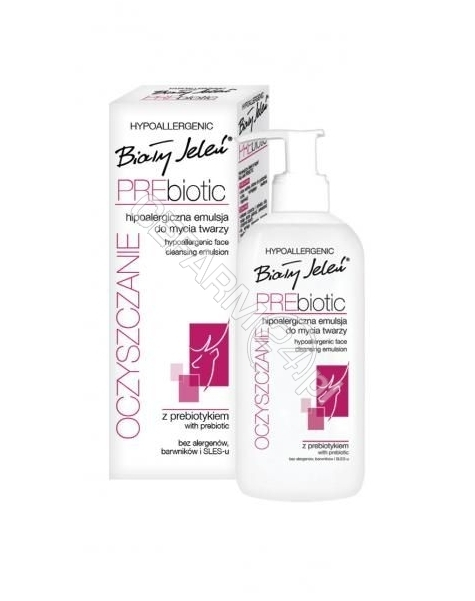 POLLENA OSTRZESZÓW Biały Jeleń Prebiotic emulsja do mycia twarzy 200 ml