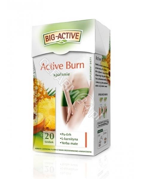 BIO-ACTIVE Big-active spalanie active burn x 20 sasz