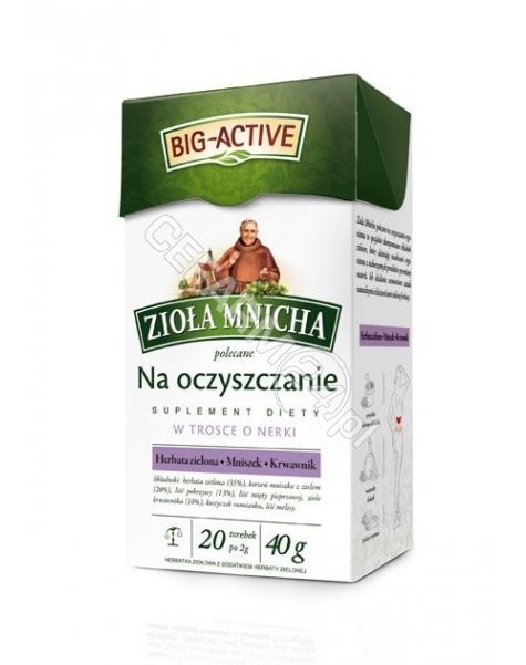 BIO-ACTIVE Big-active zioła mnicha na oczyszczanie x 20 sasz