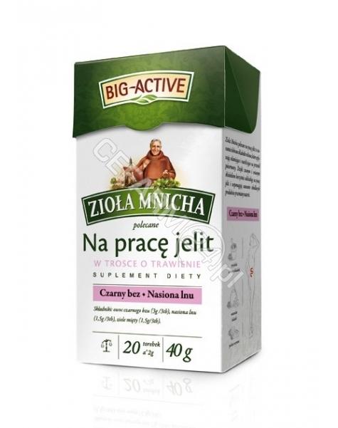BIO-ACTIVE Big-active zioła mnicha na pracę jelit x 20 sasz