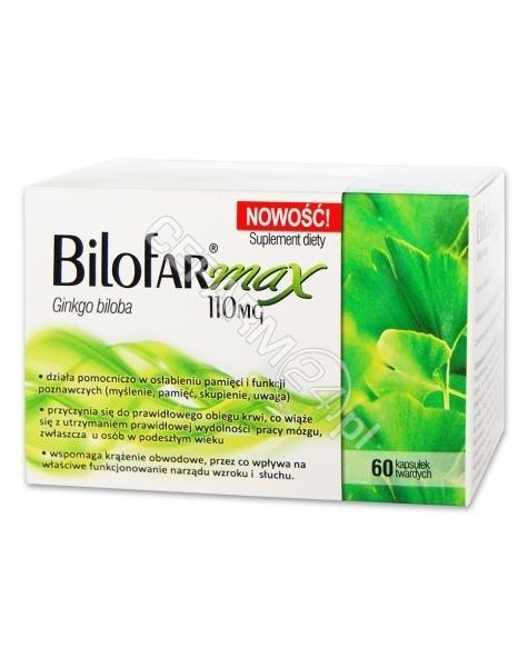 GRAVIS PHARMA Bilofar Max 110 mg x 60 kaps