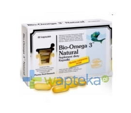 PHARMA NORD Bio-Omega-3 Natural 60 kapsułek