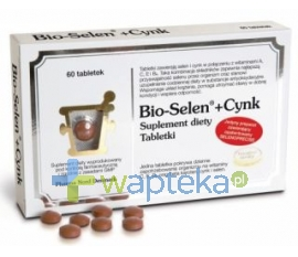 PHARMA NORD Bio-Selen + Cynk 60 tabletek