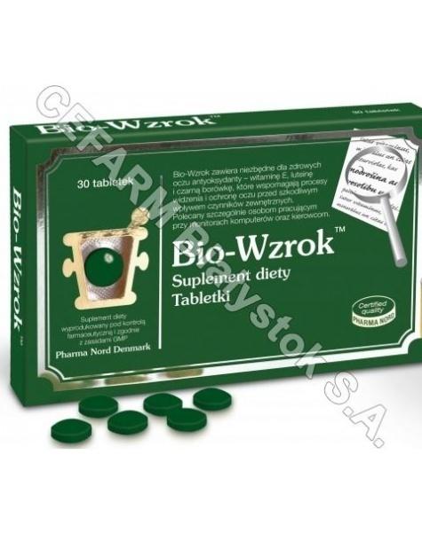 PHARMA NORD Bio-wzrok x 30 tabl