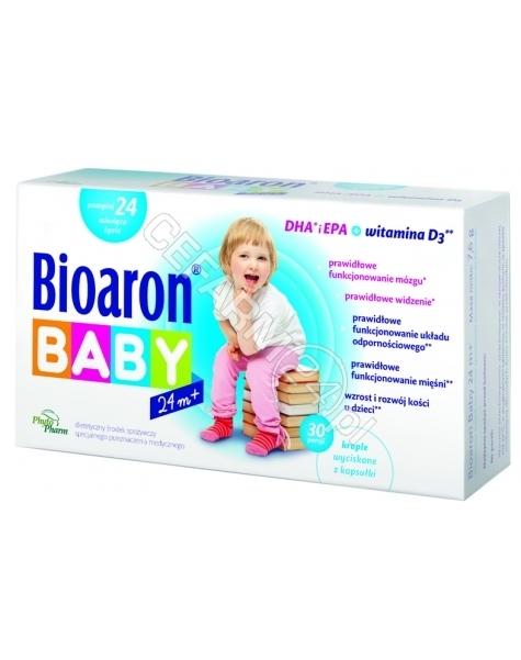 PHYTOPHARM KLEKA S.A. Bioaron Baby 24 m+ x 30 kaps twist-off