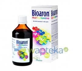 PHYTOPHARM KLĘKA S.A. Bioaron Multivitamina syrop 200 ml