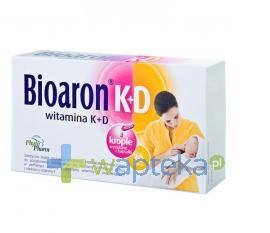 PHYTOPHARM KLĘKA S.A. Bioaron Witamina K+D 30 kapsułek twist-off