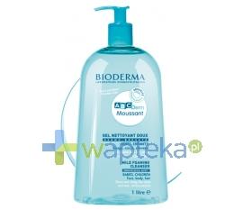LAB.BIODERMA BIODERMA ABCDERM MOUSSANT Delikatny żel myjący do twarzy, ciała i włosów 1000ml