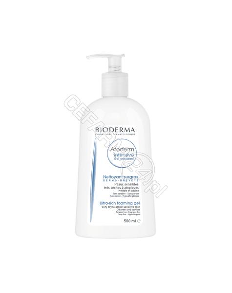 BIODERMA Bioderma atoderm intensive gel moussant - żel oczyszczający i natłuszczający 500 ml