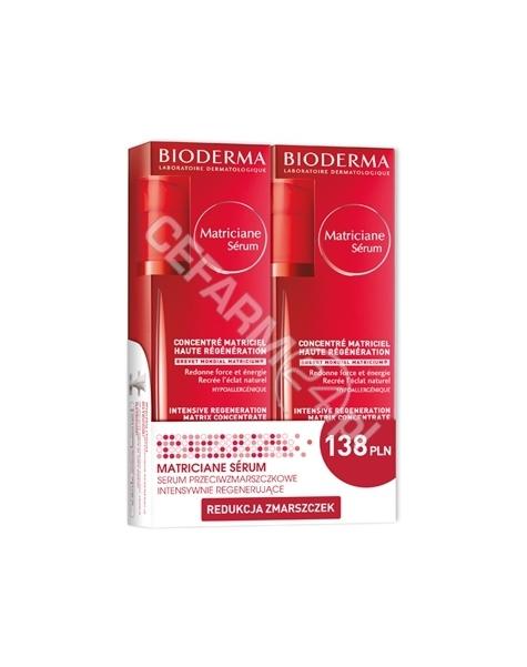 BIODERMA Bioderma DUOPACK Matriciane Serum intensywnie regenerujące (2 x 30 ml)