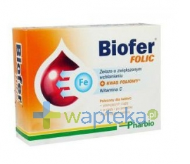 PHARBIO MEDICAL INT.AB Biofer Folic 80 tab