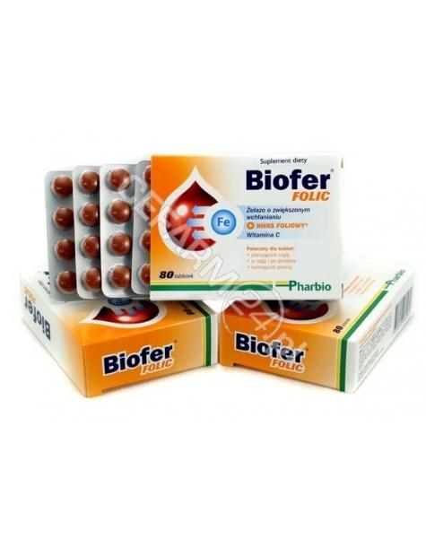 PHARBIO MEDI Biofer folic x 80 tabl