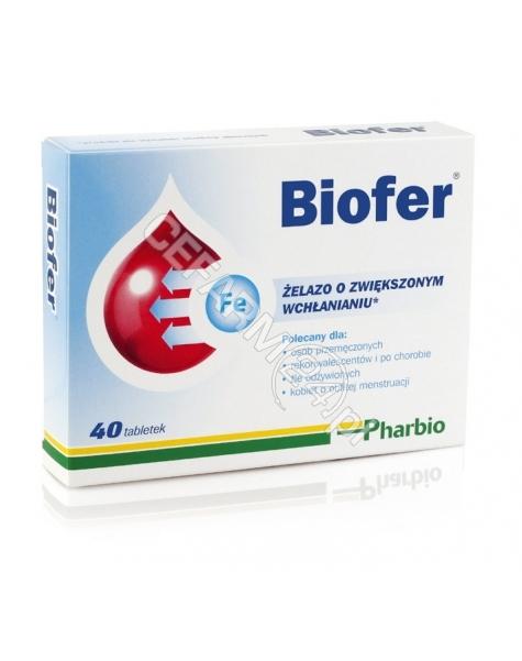 PHARBIO MEDI Biofer x 40 tabl