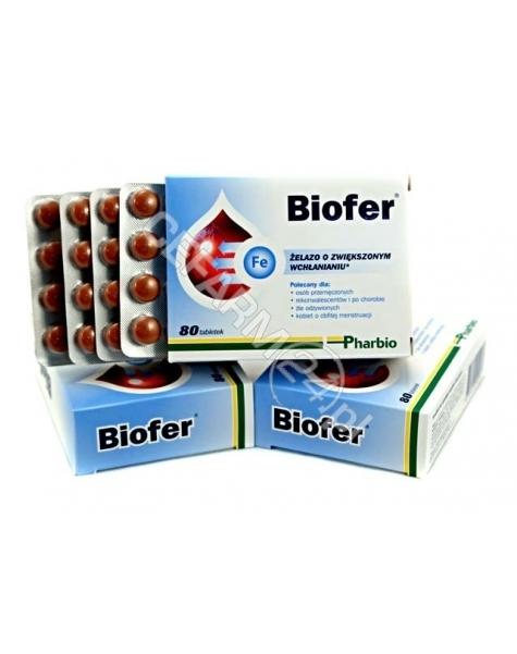 PHARBIO MEDI Biofer x 80 tabl