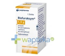BIOTON S.A. Biofuroksym iniekcja roztwór dożylny 1,5 g 1 fiolka