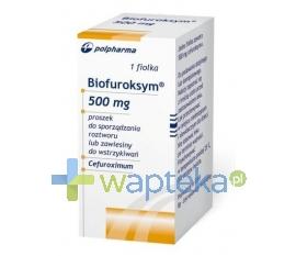 BIOTON S.A. Biofuroksym iniekcje roztwór 500 mg 1 fiolka