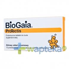 EWOPHARMA AG SP.Z O.O. BioGaia 10 tabletek do żucia o smaku cytrynowym