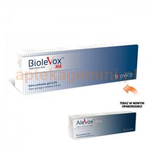 BIOVICO Biolevox HA (dawniej Alevox HA), 1 ampułko-strzykawka, 2ml