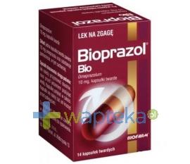 BIOFARM SP.Z O.O. Bioprazol Bio 10 mg x 14 kapsułek