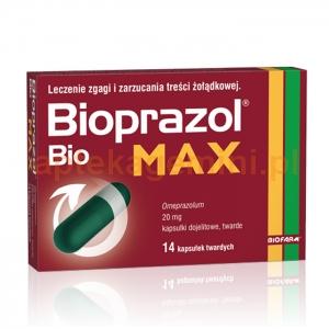 BIOFARM SP.Z O.O. Bioprazol Bio Max 14 kapsułek