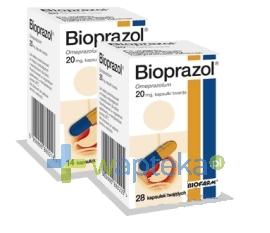 BIOFARM SP.Z O.O. Bioprazol kapsułki twarde 20 mg 14 sztuk