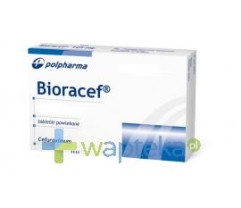 BIOTON S.A. Bioracef 125 mg tabletki powlekane 14 sztuk