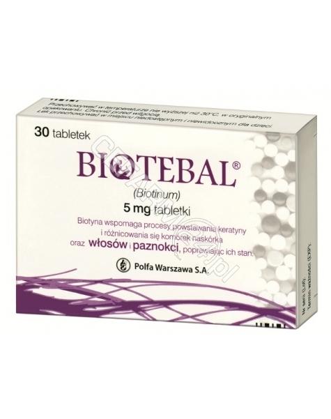 POLFA WARSZA Biotebal 5 mg x 30 tabl