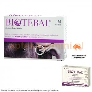 POLFA WARSZAWA Biotebal 5mg, 30 tabletek