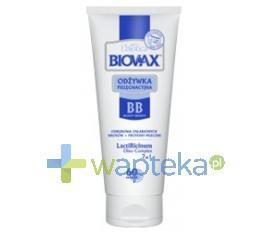 LBIOTICA BIOVAX BB Odżywka do włosów 60 sekund LATTE włosy osłabione 200ml