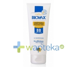 LBIOTICA BIOVAX BB Odżywka do włosów 60 sekund włosy blond 200ml