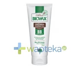LBIOTICA BIOVAX BB odżywka do włosów 60 sekund włosy słabe wypadające 200 ml