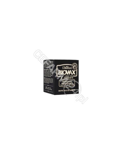 L'BIOTICA Biovax Caviar intensywnie regenerująca maseczka do wszystkich rodzajów włosów 125 ml