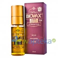 LBIOTICA BIOVAX Eliksir Argan Makadamia Kokos 50 ml
